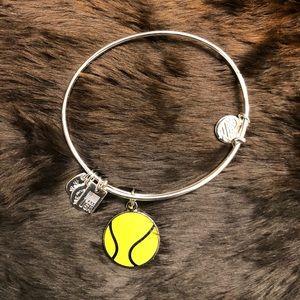 Alex and Ani Team USA Tennis Charm Bracelet